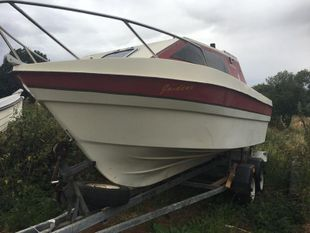Weston 560 project boat with Suzuki DT60 engine