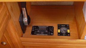 battery monitoring system and tank gauges at nav station