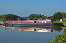 57ft Semi-Trad Stern Narrowboat