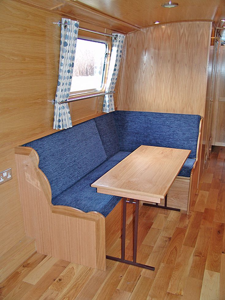57ft Marbury Narrowboat (Reverse Layout)
