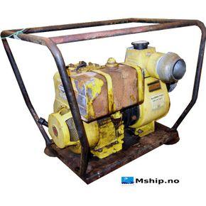 Atlas Copco 8 HP petrol bilge pump