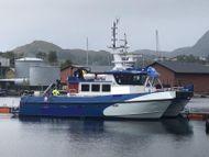 14m Crew Transfer Catamaran