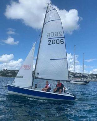 "Laser 2000 family boat ""Blew"""