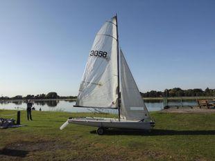 Laser 3000 sail number 3058