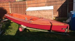 Wooden Scorpion Sailing Dinghy