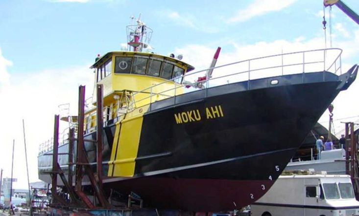 33mtr Fire Fighting / Rescue Vessel