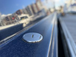 Stainless deck fittings by Vetus