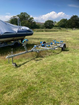Extreme Boat trailer for Rib