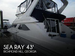 1996 Sea Ray 440 Express Bridge