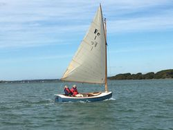 CATBOAT - Superlative Day Boat. Professionally built in 2017.