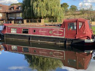 Puddleduck 40' Cruiser Stern Narrowboat