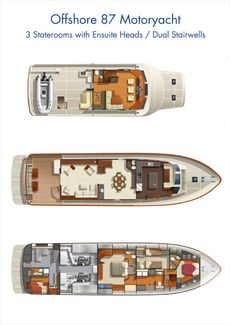 2020 Offshore Yachts 87/92 Motoryacht