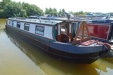 45ft Cruiser Stern Narrowboat