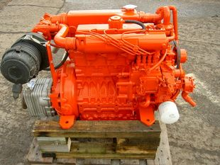 80HP Kubota Marine Engine - Fully Reconditioned