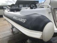 Williams turbojet 325 boat rib