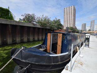 1978 Narrowboat 50ft with London mooring
