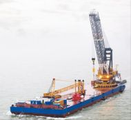 2012 Crane Barge For Charter