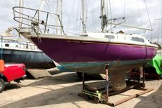 Mystere Flyer, 26ft GRP fin keel sloop.