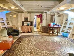 Large room below deck