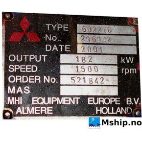 Mitsubishi S6S-DT    mship.no