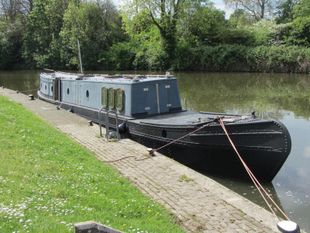SOLD  NOW SOLD 62ft tug style narrowboat jp3 houseboat