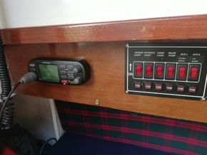 switch panel and vhf