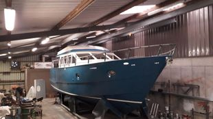 New Build Sea going Steel hull leisure cruiser