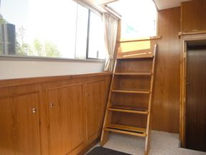 Saloon  (after) New windows & total refit