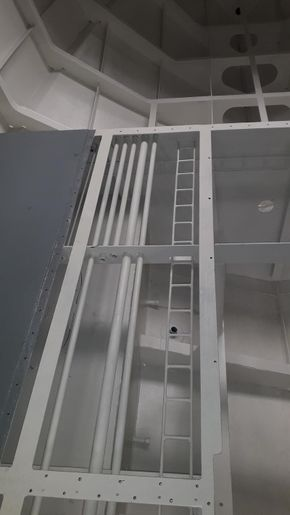 Service piping & cable ladder