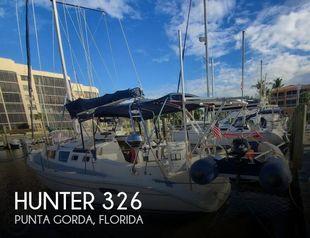 2002 Hunter 326
