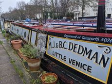 50' Hudson with private mooring in little Venice