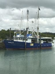 FV Seeker II. Steel commercial fishing