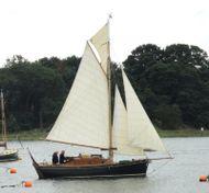 Tamarisk 24, GRP Gaff Cutter aux inboard