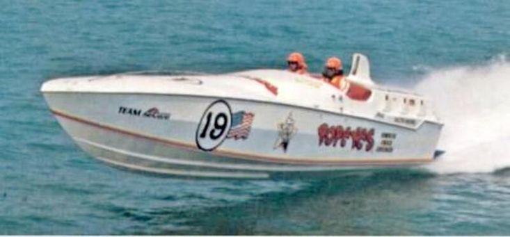 1980 Cigarette Racing  - Don Aronow 'Bubbledeck'