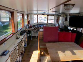 Patrol Vessel 55ft with Residential Mooring - Looking Forward