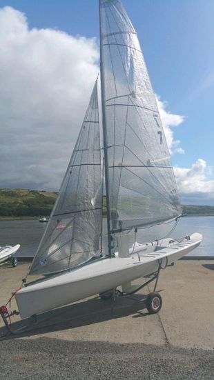 K1 single-handed keelboat - lifting keel