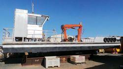 Aluminium Self Propelled Crane Barge