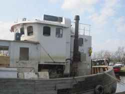 Wheelhouse from 21m Trawler,
