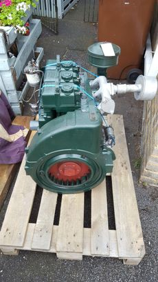 Lister ST3 engine (reconditioned)