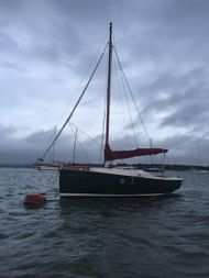 SOLD BY BYS Cornish Shrimper Mk2 -Excellent condition+Trailer option