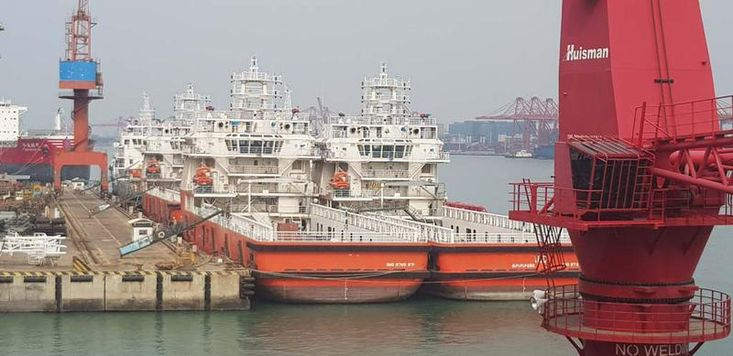 78mtr Platform Supply Vessels 10 vessels available