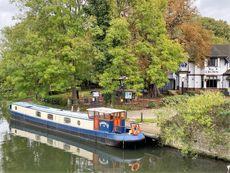 62' Dutch Barge Narrowboat with London Mooring