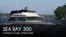 1986 Sea Ray 300 Sedan Bridge