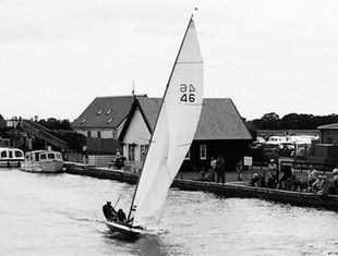 Traditional Norfolk Punt