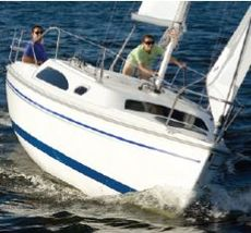 Catalina 250mkII water ballast
