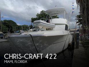 1986 Chris-Craft 422 Commander