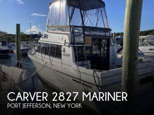 1988 Carver 2827 Mariner