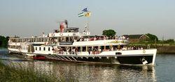 Paddlesteamer Steamboat Passengerboat
