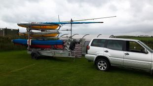West Mersea Triple stacking