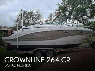 2015 Crownline 264 CR